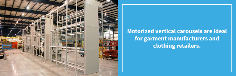 Motorized Vertical Storage Carousels