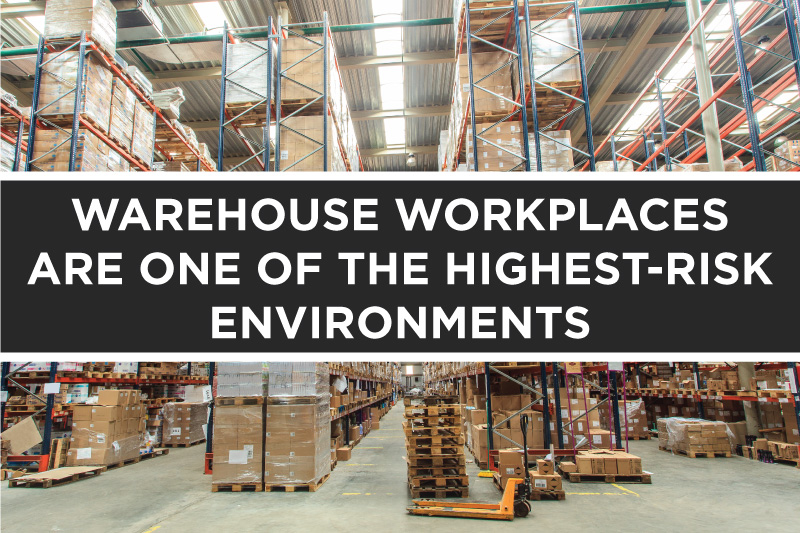 Warehouse Highest-Risk Workplace Environments