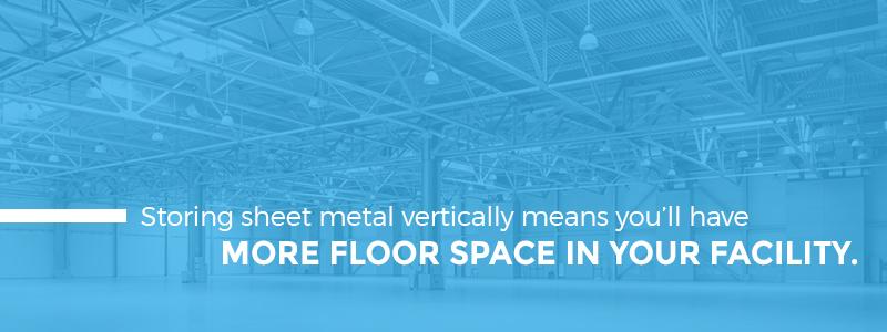 Increase Facility Floor Storage Space