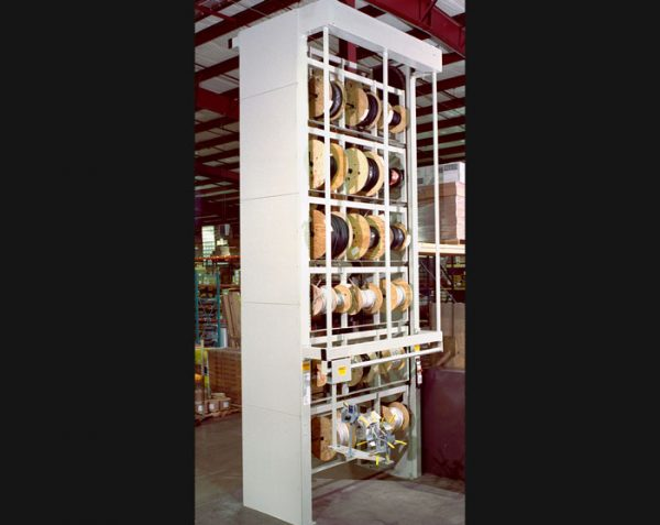 Wire And Cable Vertical Spool Storage Carousels By Summit
