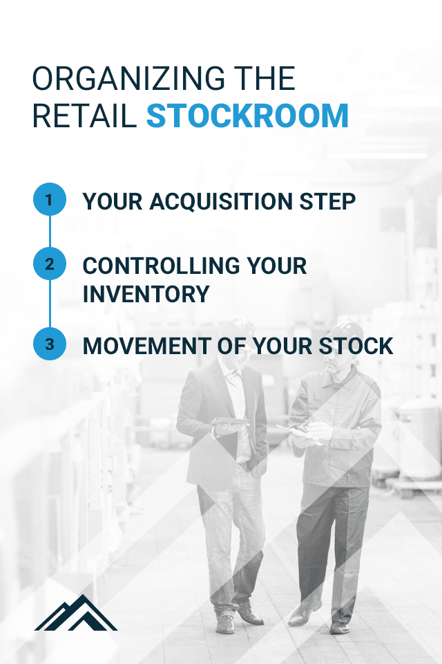 How to organize a retail stockroom