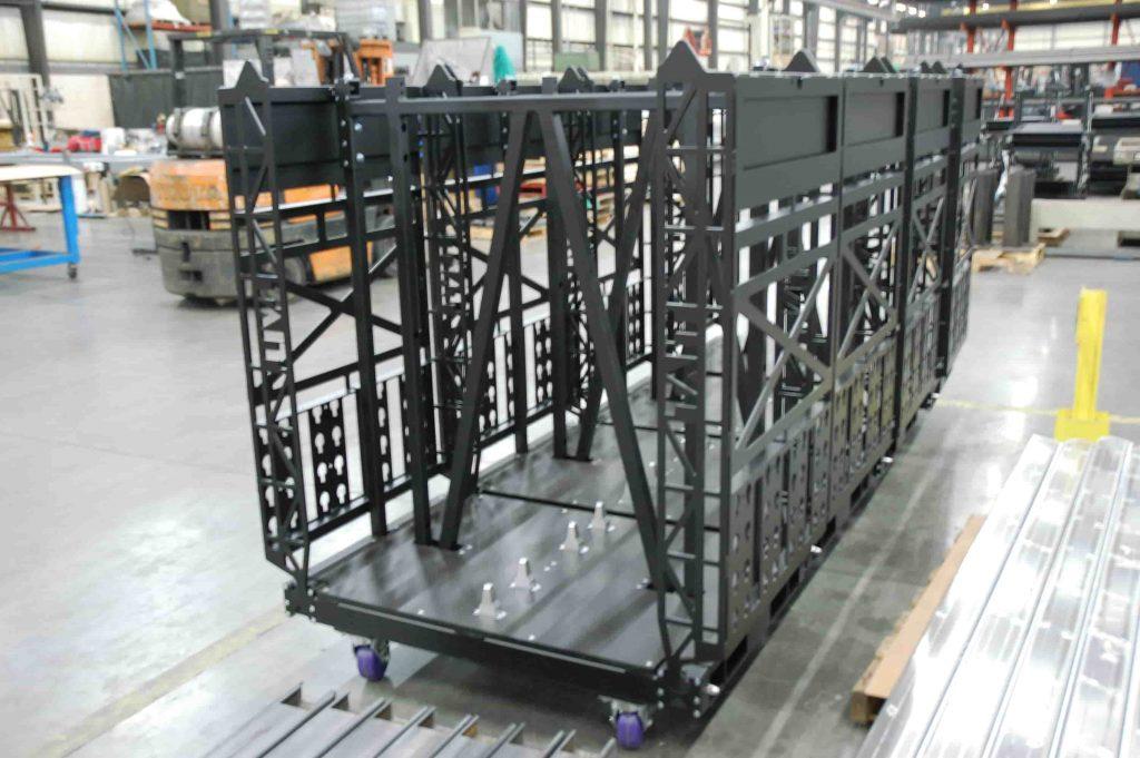 Summit Storage Custom Assembly Carts and Racks