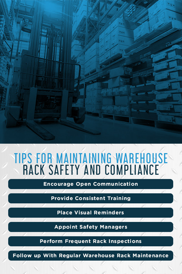 How to Maintain Warehouse Rack Safety and Compliance